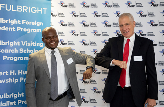 Fulbright South Africa and NRF signing - Dr. Fulufhelo Nelwamondo (CEO, NRF)